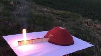 火柴做的多米诺骨牌,点燃后太惊艳了,网友-看得太爽了!