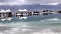 西北大环线青海翡翠湖.南八仙景区