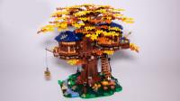 乐高2019限量新品创意百变高手系列21318森林之树小屋积木