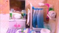 太厉害了!手工制作DIY公主浴室,到底用了什么常见材料做的呢?
