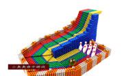 用磁珠设计制作大理石保龄球游戏,儿童玩具亲子互动