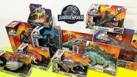 侏罗纪乐园霸王龙剑龙甲龙玩具展示