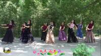 紫竹院广场舞《又见山里红》,怎么可以这么美!