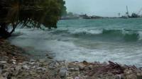 【原创】海岛风光最好是风和日丽 碰上傻13天气 却也别有景致 风浪中的图鲁斯杜岛 马尔代夫居民岛一游