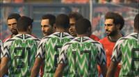 【实况足球】2019年埃及队勇夺非洲杯(上集),埃及 VS 尼日利亚