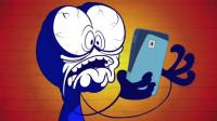 搞笑鉛筆動畫:小笨蛋作為一枚游戲資深玩家,豈能容忍別人打破他的記錄
