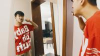 陳翔六點半:小伙有天去照鏡子,突然發現鏡子中自己有些奇怪!