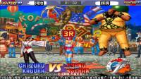 拳皇97:最高水平街机4S加河池循环第十场:河池vs辉辉