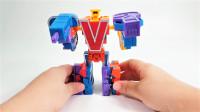 9个字母金刚战队系列R到Z变形金刚机器人变形机甲玩具