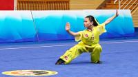 2018年全国青少年武术套路锦标赛 C组 女子长拳 002 杨铭(四川)