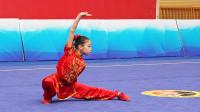 2018年全国青少年武术套路锦标赛 C组 女子长拳 004 孔令彤(山东体院)