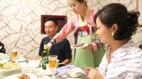 朝鲜人的饮食习惯,手撕明太鱼,喝