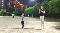 好心情蓝蓝广场舞儿童舞蹈【宝贝宝贝】演示李浩宇