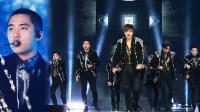 2017歌谣大战:超经典的年末舞台!让我们感受一下EXO充满能量的舞台演出吧!