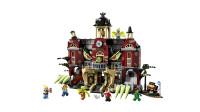 LEGO乐高积木玩具Hidden Side系列70425纽伯里捉鬼高中套装速拼