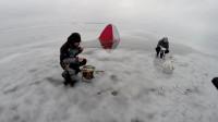 钓鱼 冰钓 冒险