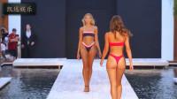Nessy 邁阿密海灘比基尼秀,身材絕佳的貌美超模,魅力十足