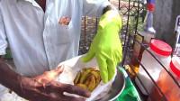斯里兰卡当地人只吃青菠萝和青芒果,辣椒盐醋,一个都不能少