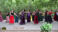紫竹院广场舞《翻身农奴把歌唱》,太美了,看了好几遍!