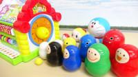 小叮当和玩偶们进入彩色小屋