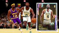 NBA指环王拉塞尔!我是看拉塞尔打球长大的!NBA2K19银河拉塞尔