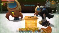 迷你世界197:贤弟做好火箭,来到萌眼星,与我会师!