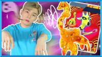 谁是森林之王?魔幻车神受邀参加动物聚会 | 凯文和游戏 KevinAndPlay