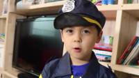 马树奇趣秀 不听话的孩子会被警察叔叔批评!养成良好生活习惯! 小伶玩具