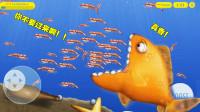 美味汪洋:金鱼从下水道钻入海洋,发现一大群小龙虾,立马狂吃!