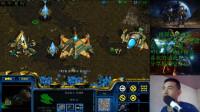 星际争霸:雨神对战虫族bo3 第二局
