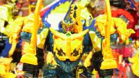 骑士龙战队龙装者 剧场版DX 骑士龙神合体变形机甲玩具开箱