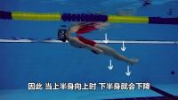 仰泳教程(第三部)美女教练教你学仰泳