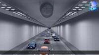 """首个""""漂浮""""的海底隧道:汽车可以在水下行走,将路程缩短一半"""