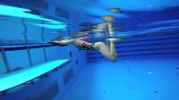 蛙泳视频教程(第二课),美女教练教你学蛙泳