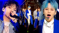 D1CE《WakeUp》帅气的蓝色西装打歌服,打破炎热夏日!