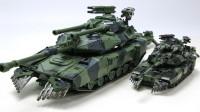 变形金刚电影工作室SS系列超大型黑曼巴LS-10吵闹坦克机器人变形玩具