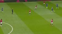 切尔西后场失误,马夏尔低射,可惜被门将扑住了