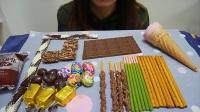 冷冻巧克力零食大集合,哪样最好吃呢?