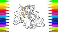 十分艳丽当中又带点小帅气的小马宝莉,这只小马究竟是谁呢?