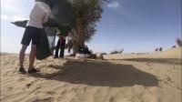 和心爱的人在沙漠里露营你敢吗,不过帐篷得选好,否则麻烦就来了