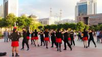 西宁市新宁广场水兵舞(74)粉红情歌