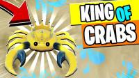 小飞象解说✘Roblox螃蟹模拟器 变身黄金螃蟹,称霸这片沙滩!乐高小游戏