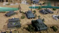 军武次位面:骑兵与坦克正面交锋,真是不知者无罪,遭受毁灭性攻击!
