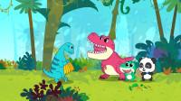 宝宝巴士恐龙世界2 第18集 镰刀龙的地盘