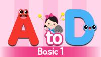 英语自然拼读法A-D   HELLO凯利ABC