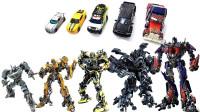 变形金刚电影系列擎天柱 大黄蜂 铁皮 棘轮 爵士机器人变形玩具