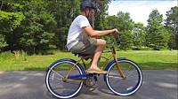 世上最难的自行车,骑10米就有巨额奖金,路人尝试后开始怀疑人生!