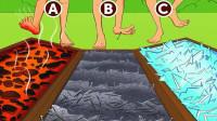 脑力测试:只有ABC三条路可选,你选哪个?看看猜对了吗?