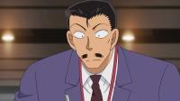 名侦探柯南 柯南为调查真相,假装看到冲野洋子支走毛利小五郎 名侦探柯南 1007 快剪  0816145806