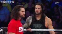 WWE:圣盾才是这场比赛的主宰,兰迪奥顿纯粹是找挨揍!
